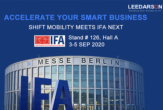 IoT Technology Innovator LEEDARSON to Present Newest Smart Living/Building  Solutions from IFA 2020 Berlin