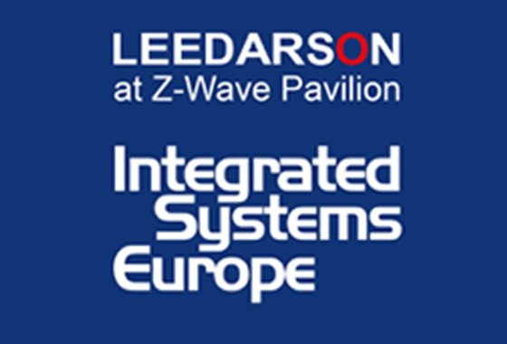 LEEDARSON Will Reveal the Latest New and Innovative Z-Wave Protocol IoT Products & Solutions at ISE 2018