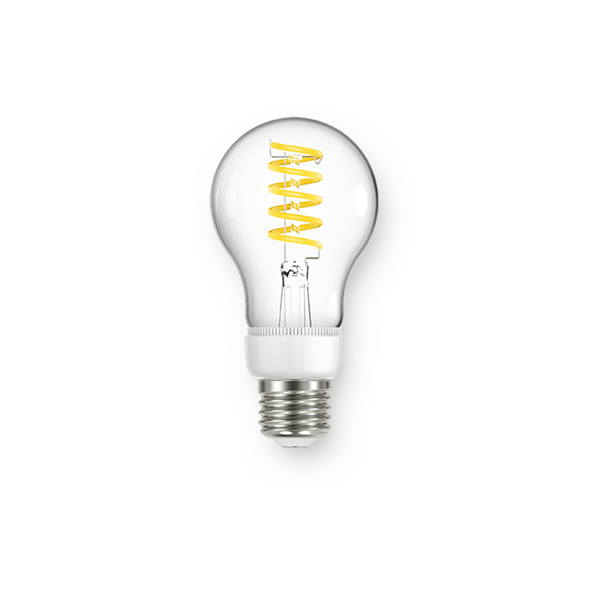 Filament A60 Spiral Clear 470lm Dimmable E27