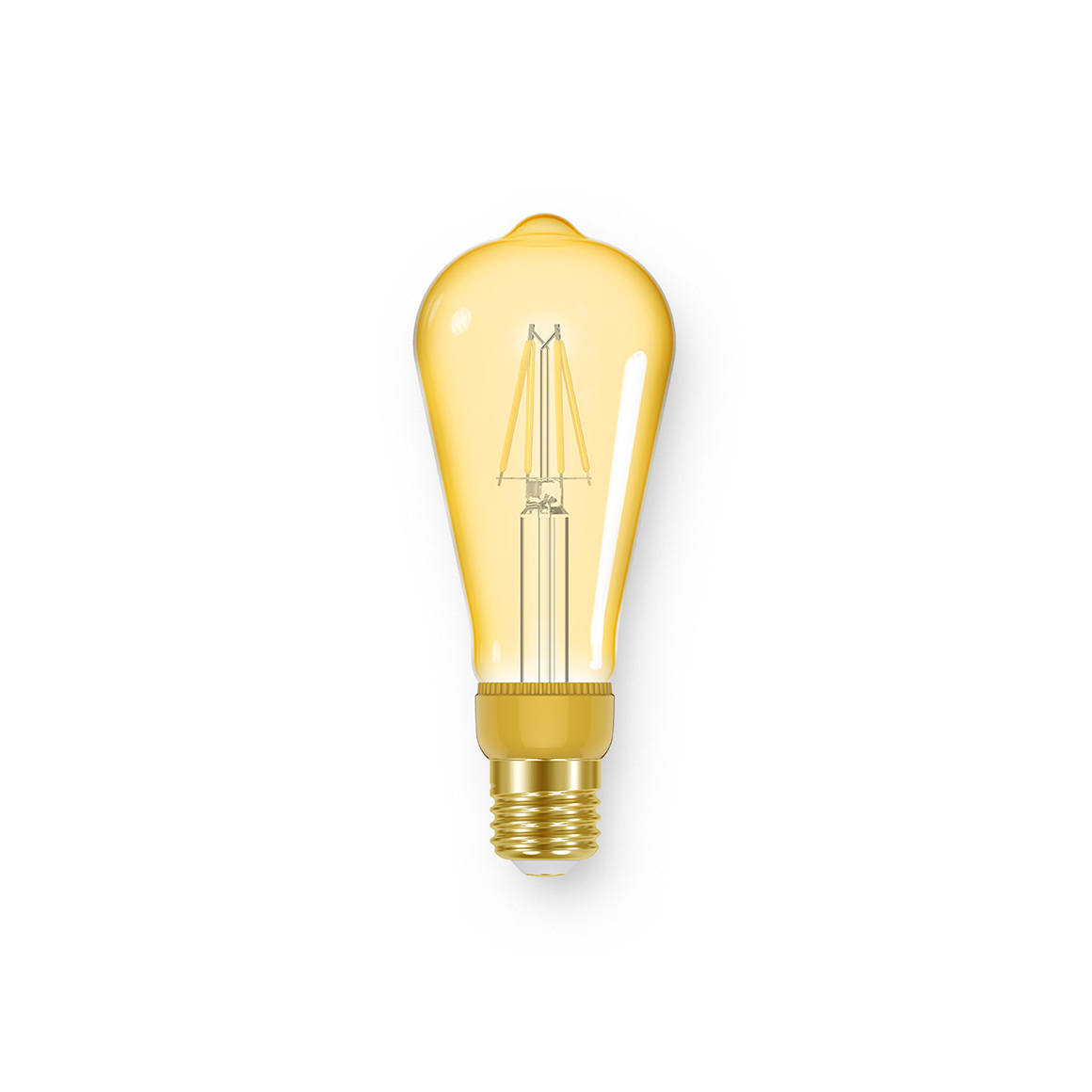 Filament ST64 Vintage 350lm Dimmable E27