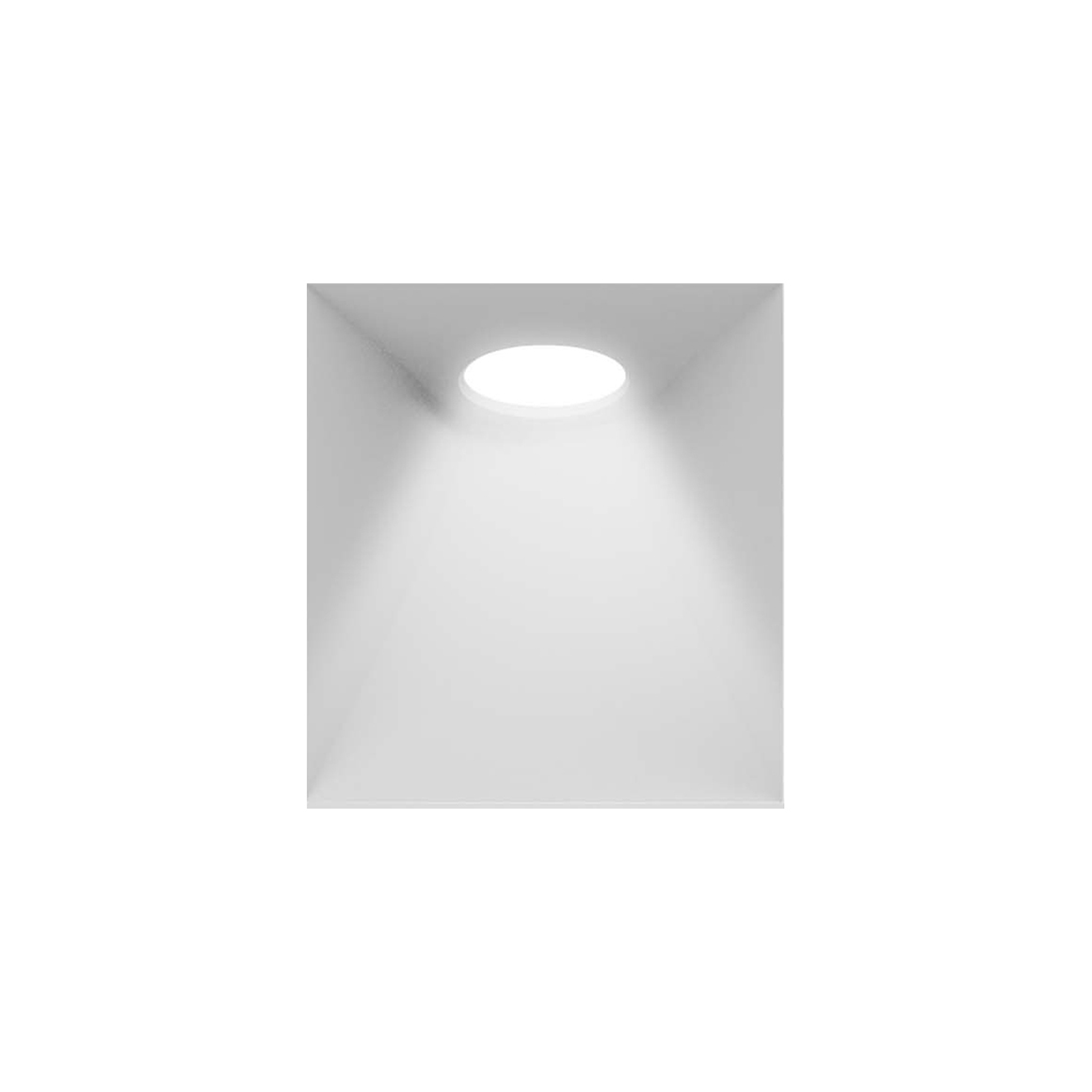 Recessed Round Wall Light _GDR