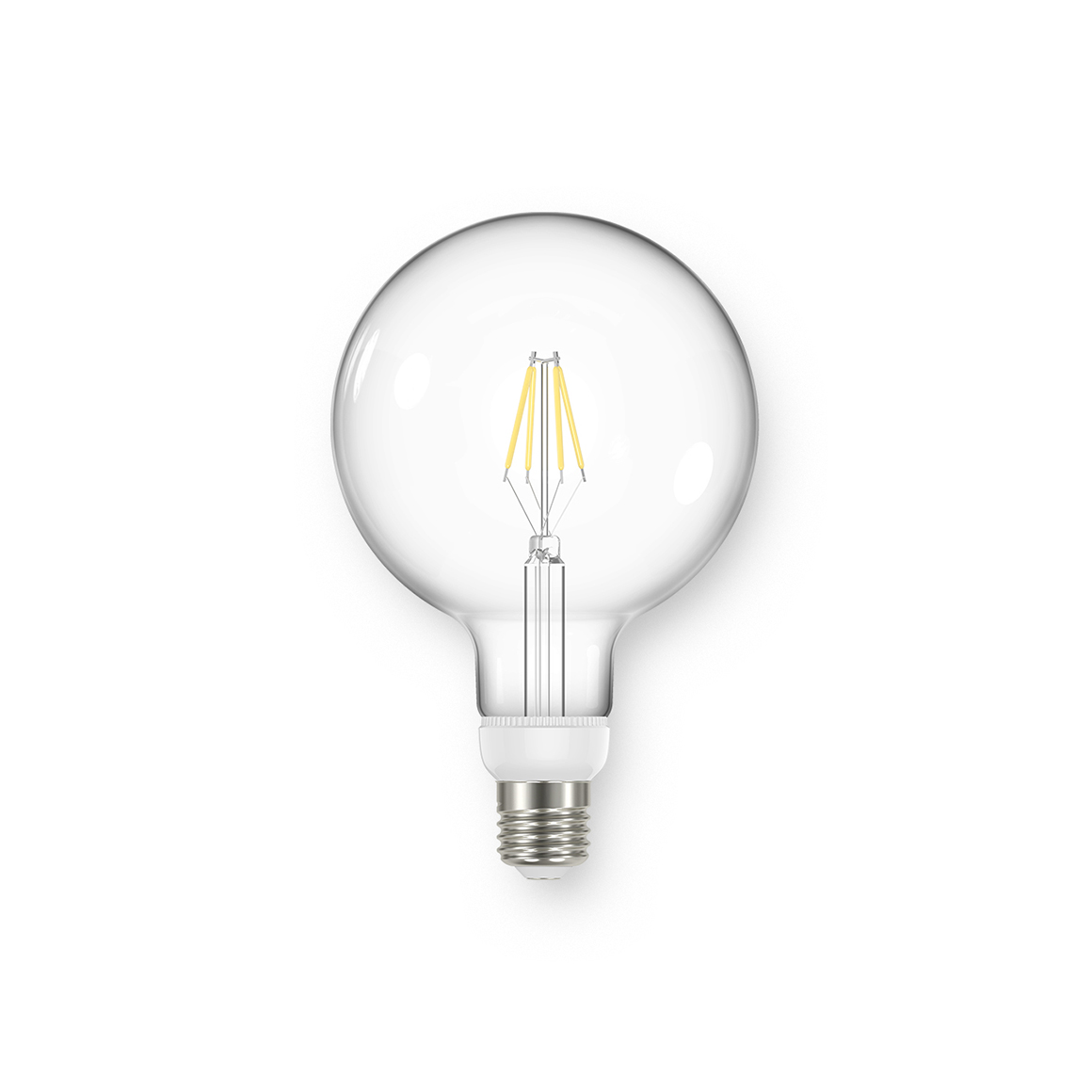 Global G125 Clear 470lm Dimmable E27