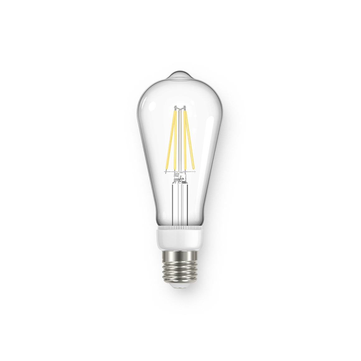 Filament ST64 Clear 806lm Dimmable E27