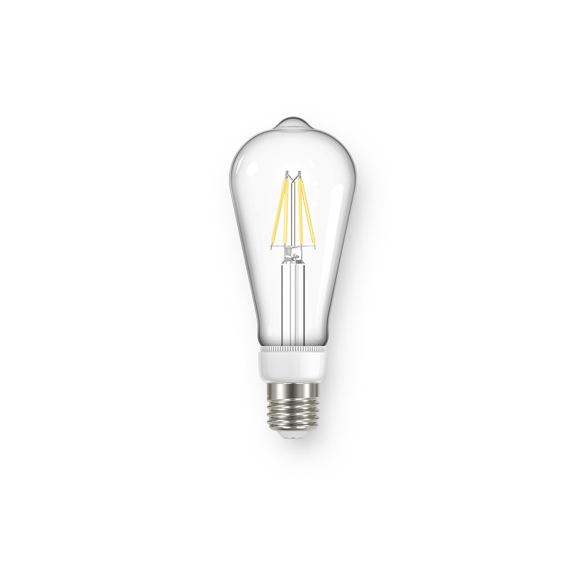 Filament ST64 Clear 470lm Dimmable E27
